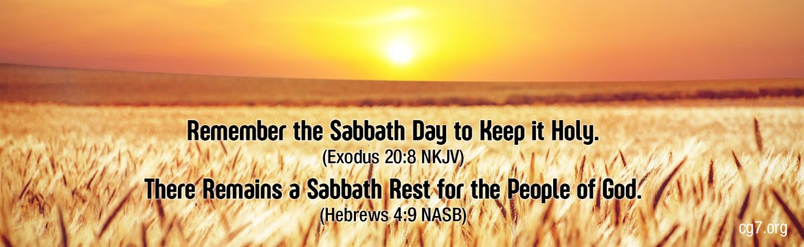 Church of God 7th Day Sabbath Observing Christians